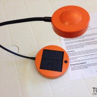 lampada a pannello solare